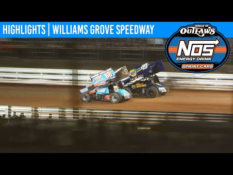 World of Outlaws NOS Energy Drink Sprint Cars Williams Grove Speedway, July 25, 2020 | HIGHLIGHTS