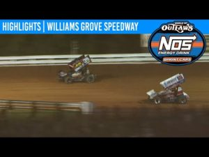 World of Outlaws NOS Energy Drink Sprint Cars Williams Grove Speedway, July 24, 2020 | HIGHLIGHTS