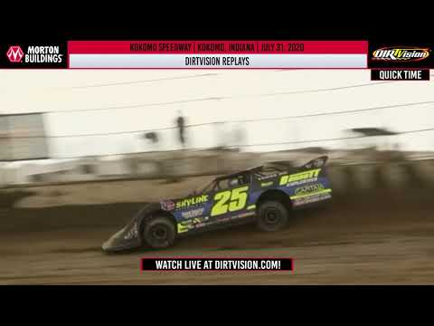 DIRTVISION REPLAYS | Kokomo Speedway July 31, 2020
