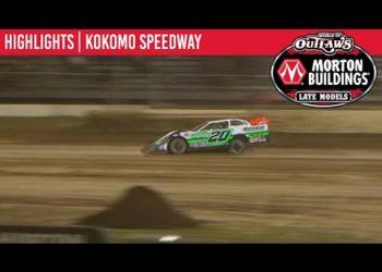 World of Outlaws Morton Buildings Late Models Kokomo Showdown 1 Speedway, July 31, 2020 | HIGHLIGHTS