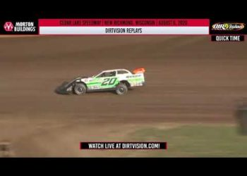 DIRTVISION REPLAYS | Cedar Lake Speedway August 6th, 2020