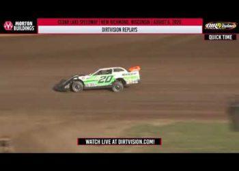 DIRTVISION REPLAYS | Cedar Lake Speedway August 6th, 2020
