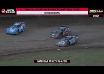 DIRTVISION REPLAYS | Cedar Lake Speedway August 8th, 2020