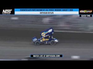 DIRTVISION REPLAYS | Federated Auto Parts Raceway at I-55 August 7, 2020