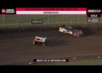 DIRTVISION REPLAYS | Cedar Lake Speedway August 7th, 2020