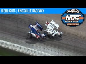 World of Outlaws NOS Energy Drink Sprint Cars Knoxville Raceway August 14, 2020 | HIGHLIGHTS