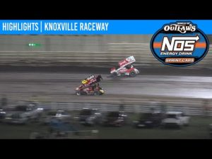 World of Outlaws NOS Energy Drink Sprint Cars Knoxville Raceway August 15, 2020   HIGHLIGHTS
