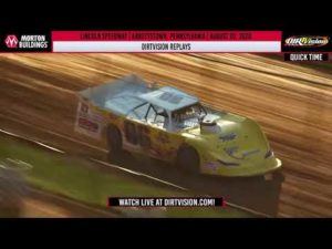 DIRTVISION REPLAYS   Lincoln Speedway August 20th, 2020