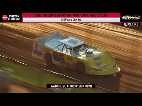 DIRTVISION REPLAYS | Lincoln Speedway August 20th, 2020