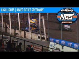 World of Outlaws NOS Energy Drink Sprint Cars River Cities Speedway August 21, 2020   HIGHLIGHTS