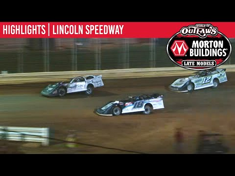World of Outlaws Morton Buildings Late Models Lincoln Speedway August 20th, 2020 | HIGHLIGHTS