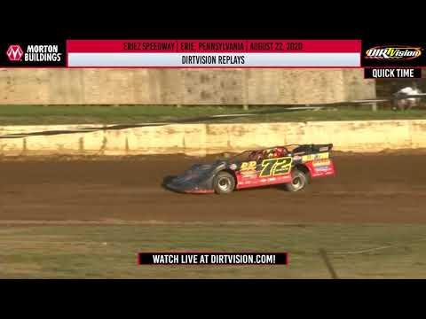 DIRTVISION REPLAYS | Eriez Speedway August 22nd, 2020