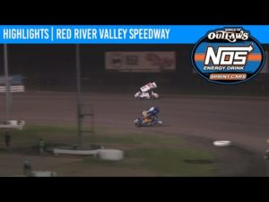 World of Outlaws NOS Energy Drink Sprint Cars Red River Valley Speedway August 22, 2020   HIGHLIGHTS