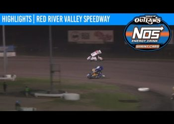 World of Outlaws NOS Energy Drink Sprint Cars Red River Valley Speedway August 22, 2020 | HIGHLIGHTS