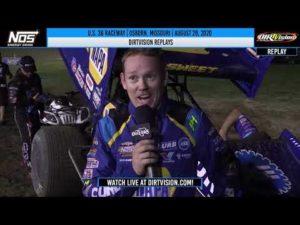DIRTVISION REPLAYS   U.S. 36 Raceway August 29th, 2020