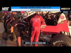 DIRTVISION REPLAYS | I-80 Speedway August 30th, 2020