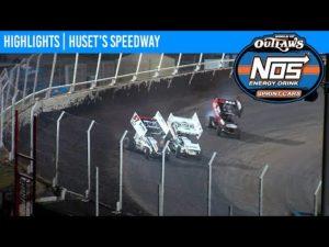World of Outlaws NOS Energy Drink Sprint Cars Huset's Speedway September 5, 2020   HIGHLIGHTS