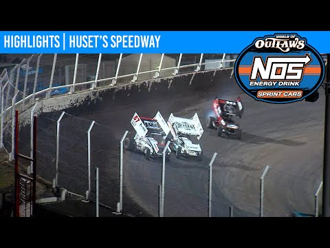 World of Outlaws NOS Energy Drink Sprint Cars Huset's Speedway September 5, 2020 | HIGHLIGHTS