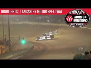 World of Outlaws Morton Buildings Late Models Lancaster Speedway September 5, 2020 | HIGHLIGHTS