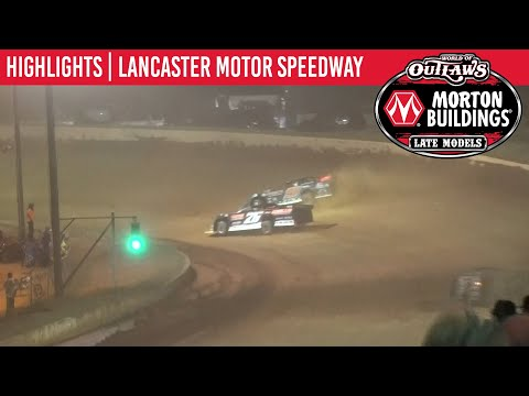 World of Outlaws Morton Buildings Late Models Lancaster Speedway September 5, 2020 | HIGHLIGHTS