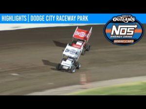 World of Outlaws NOS Energy Drink Sprint Cars Dodge City Raceway September 11, 2020   HIGHLIGHTS