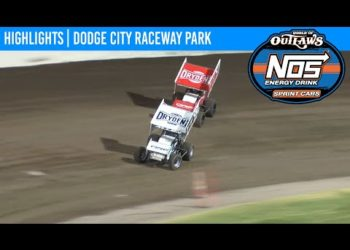 World of Outlaws NOS Energy Drink Sprint Cars Dodge City Raceway September 11, 2020 | HIGHLIGHTS