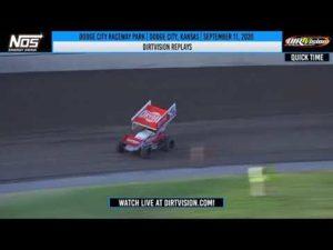 DIRTVISION REPLAYS   Dodge City Raceway Park September 11th, 2020
