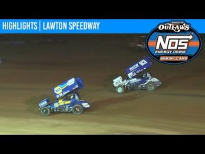 World of Outlaws NOS Energy Drink Sprint Cars Lawton Speedway September 18, 2020   HIGHLIGHTS