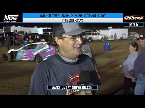 DIRTVISION REPLAYS | Lawton Speedway September 18th, 2020