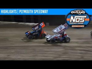 World of Outlaws NOS Energy Drink Sprint Cars Plymouth Speedway September 24, 2020   HIGHLIGHTS