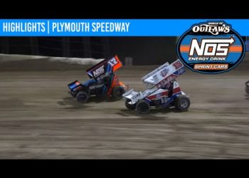 World of Outlaws NOS Energy Drink Sprint Cars Plymouth Speedway September 24, 2020 | HIGHLIGHTS