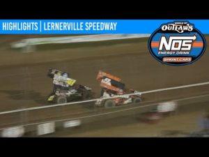 World of Outlaws NOS Energy Drink Sprint Cars Lernerville Speedway September 26, 2020   HIGHLIGHTS