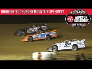 World of Outlaws Morton Buildings Late Models Thunder Mtn. Speedway September 26, 2020   HIGHLIGHTS
