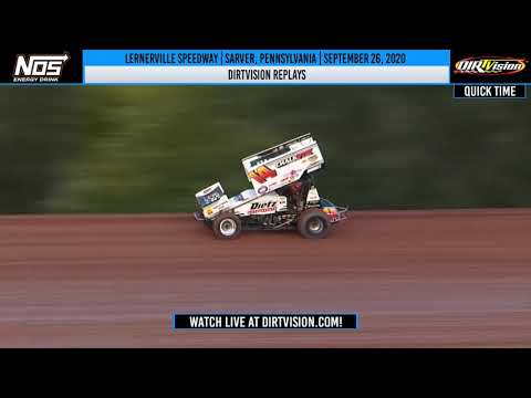 DIRTVISION REPLAYS | Lernerville Speedway September 26th, 2020