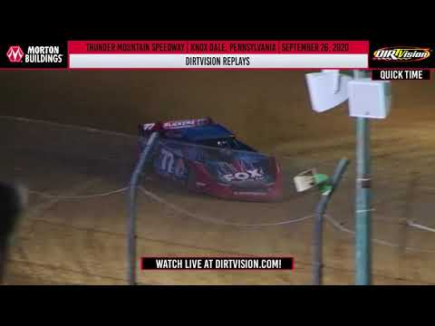 DIRTVISION REPLAYS | Thunder Mountan Speedway September 26, 2020