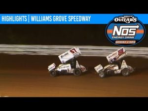 World of Outlaws NOS Energy Drink Sprint Cars Williams Grove Speedway October 2, 2020   HIGHLIGHTS