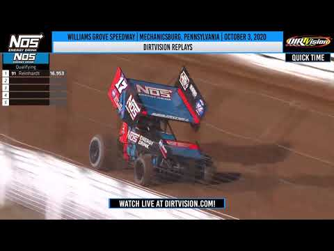 DIRTVISION REPLAYS | Williams Grove Speedway October 3, 2020