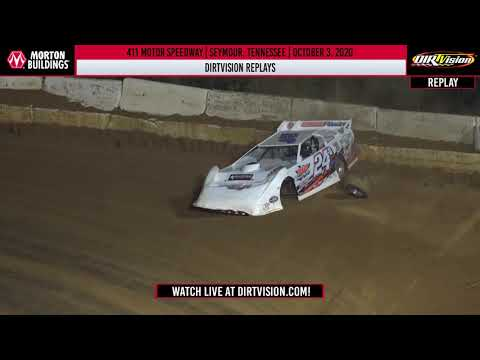 DIRTVISION REPLAYS | 411 Motor Speedway October 3, 2020