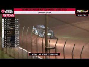 DIRTVISION REPLAYS   Cherokee Speedway October 2, 2020