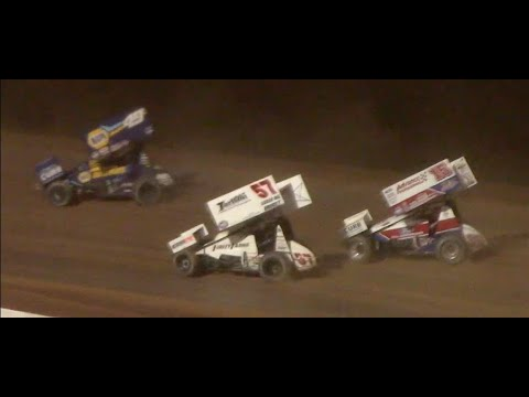 World of Outlaws Sprint Cars Feature $25K to Win | Silver Cup | Lernerville Speedway | 7/21/2020