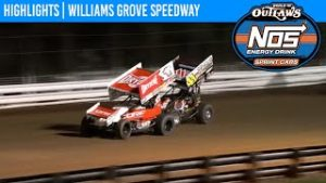 World of Outlaws NOS Energy Drink Sprint Cars Williams Grove Speedway October 3, 2020   HIGHLIGHTS