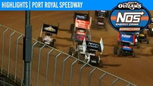 World of Outlaws NOS Energy Drink Sprint Cars Port Royal Speedway October 9, 2020   HIGHLIGHTS