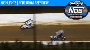World of Outlaws NOS Energy Drink Sprint Cars Port Royal Speedway October 10, 2020 | HIGHLIGHTS