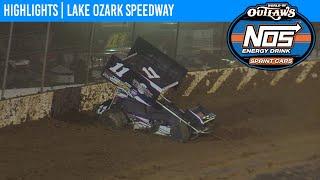 World of Outlaws NOS Energy Drink Sprint Cars Lake Ozark Speedway October 17, 2020 | HIGHLIGHTS