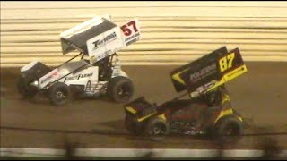 All Star Circuit of Champions 410 Sprint Car Feature | Port Royal Speedway | 6/24/2020