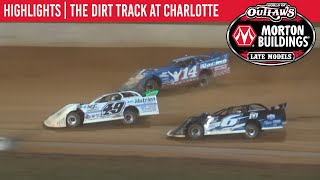 World of Outlaws Morton Buildings Late Models Dirt Track at Charlotte November 5, 2020 | HIGHLIGHTS