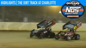 World of Outlaws NOS Energy Drink Sprint Cars Dirt Track at Charlotte November 7, 2020 | HIGHLIGHTS