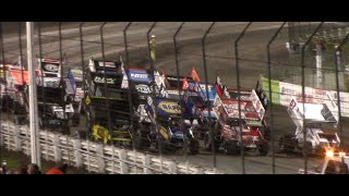 $50K To Win World of Outlaws Sprint Cars Feature | Capitani Classic | Knoxville Raceway | 8/15/2020