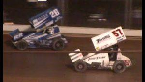 All Star Circuit of Champions 410 Sprint Car Feature | Ohio Speedweek | Sharon Speedway | 7/12/2020