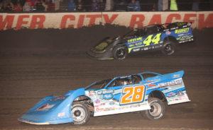 Dennis Erb races at Farmer City